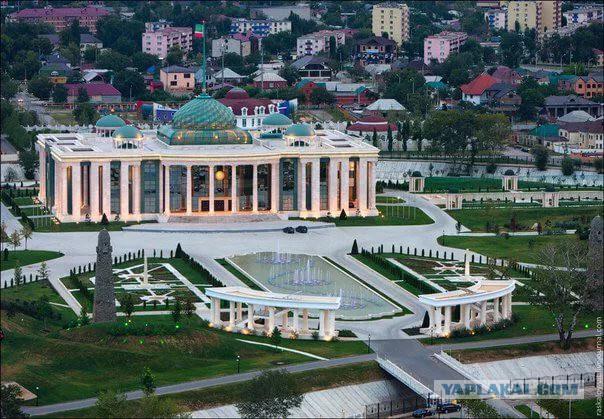 Чеченские власти потратят 51 млн рублей на год уборки во «дворце Кадырова»