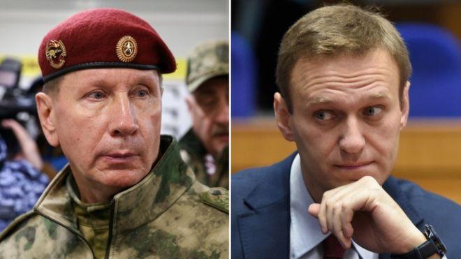 Суд вернул иск директора Росгвардии Золотова о взыскании с оппозиционера Навального 1 млн рублей