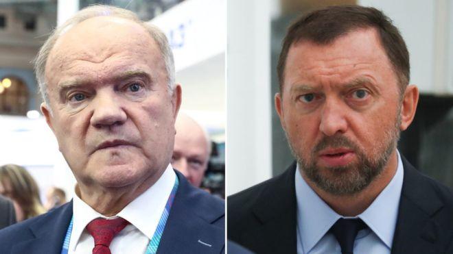 Дерипаска намерен отсудить у Зюганова миллион за то, что тот назвал его бизнес «аферой и преступлением»