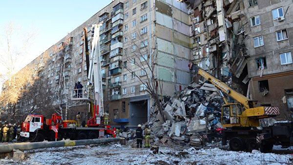Обрушение подъезда в Магнитогорске. Последние сводки