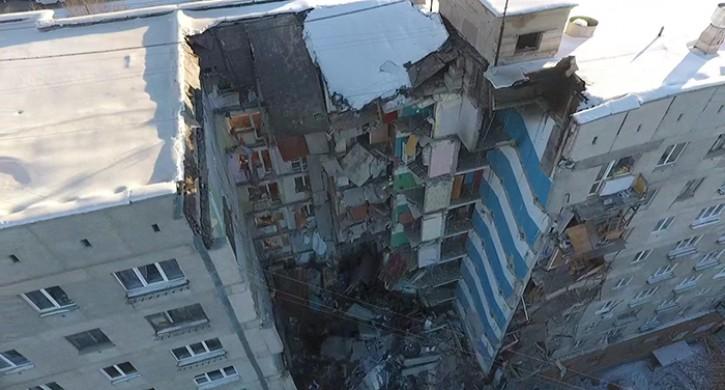 Эксперты: взрыв бытового газа не мог вызвать обрушение целого подъезда в Магнитогорске