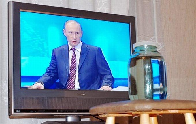 В Москве телерейтинг послания президента Федеральному собранию оказался самым низким за пять лет
