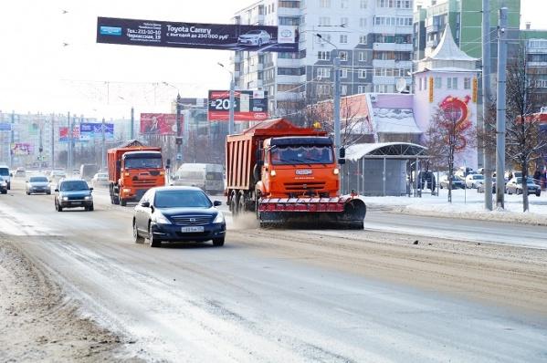 Челябинск попал в топ-10 городов, где хуже всего чистят автодороги