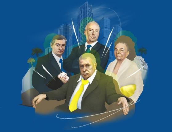 Семья Жириновского владеет недвижимостью на 10 млрд рублей и продает мандаты