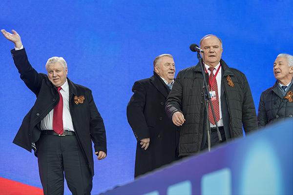 Движение «Голос» обвинило четыре парламентские партии в выводе бюджетных денег
