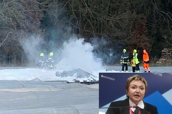 Совладелица авиакомпании S7 Наталья Филева погибла в авиакатастрофе в Германии. ВИДЕО