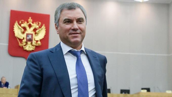 За прошедший год за спикера Госдумы Володина многократно голосовали в его отсутствие на заседаниях