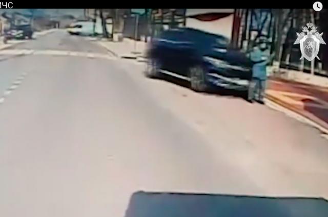 Водитель, намеренно сбивший курсанта МЧС в Воронеже, нарушал скоростной режим 46 раз. ВИДЕО