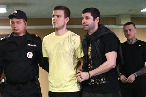 Стала известна дата оглашения приговора Кокорину и Мамаеву
