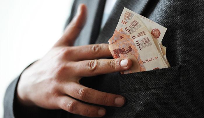 В России выросло число коррупционных преступлений