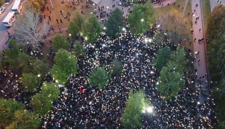 Третий день протеста в Екатеринбурге: ОМОН разогнал противников храма, задержаны около 60 человек