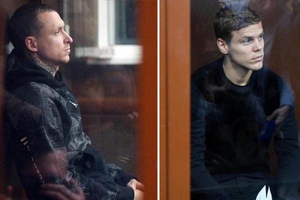 Мосгорсуд не изменил тюремные сроки для Кокорина и Мамаева