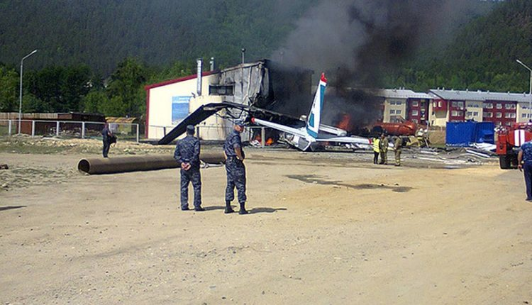 Пассажир разбившегося в Бурятии Ан-24 заснял момент крушения. ВИДЕО