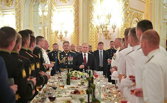 Путин пообещал силовикам новые социальные гарантии и увеличение денежного обеспечения