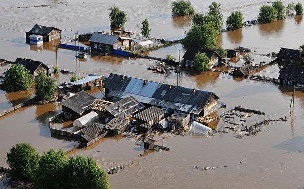 Сибири грозит эпидемия после наводнения