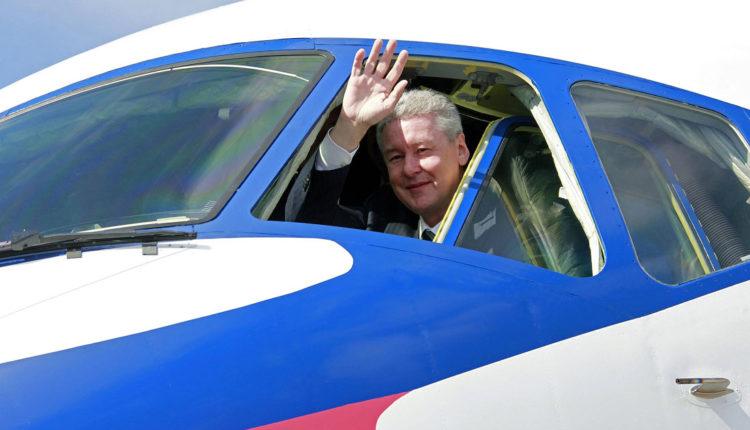 Мэр Москвы Собянин летает в командировки на VIP-самолетах за 2 млн в час