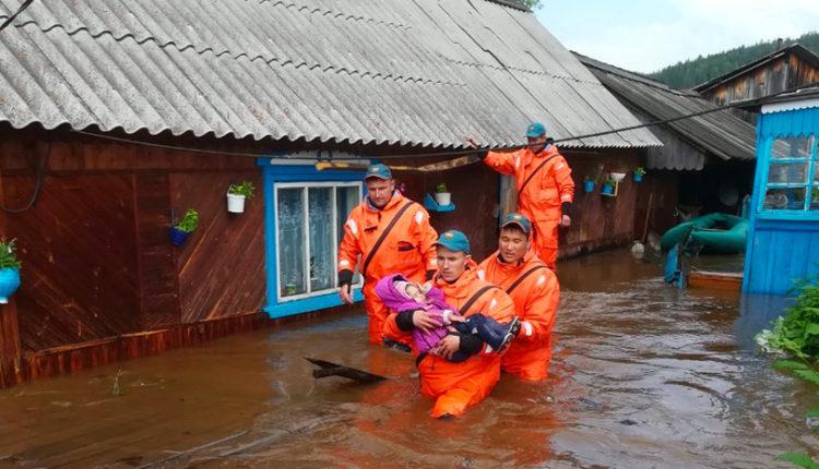 33 тысячи человек под угрозой сильнейшего наводнения в Иркутской области