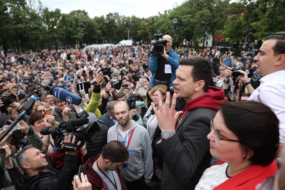 Встреча кандидатов в Мосгордуму с избирателями обернулась массовыми задержаниями. ФОТО
