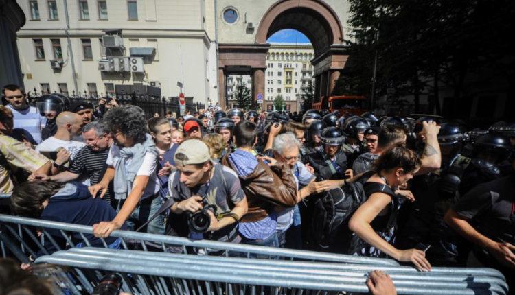 После акции 27 июля могут возбудить не менее десяти уголовных дел