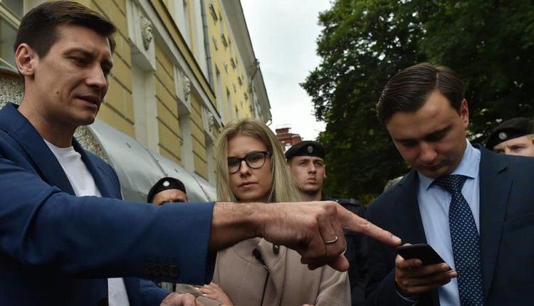 Силовики провели обыски у оппозиционных кандидатов в депутаты Мосгордумы