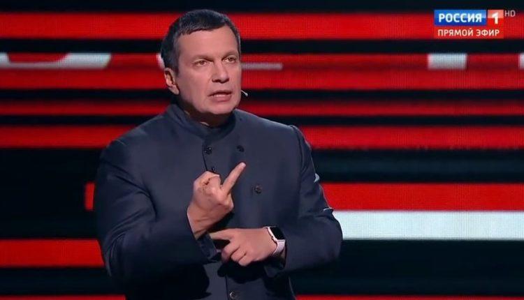 Соловьев рассказал, почему в его передачах обсуждают Украину, а не пенсии