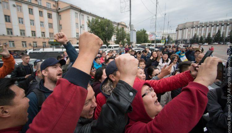 Бурятию сотрясают протесты. Третий день идёт война народа и властей. ВИДЕО