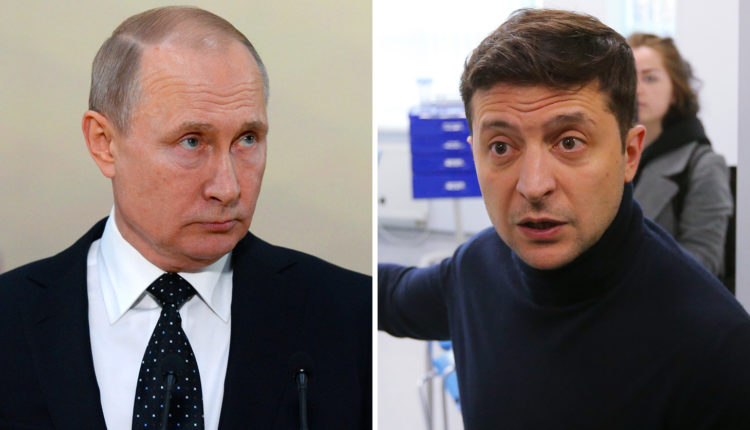 Зеленский, находясь у власти 120 дней, опередил Путина по рейтингу одобрения населения