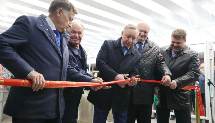 Новую станцию метро в Петербурге затопило после того, как ее торжественно открыл Беглов. ВИДЕО