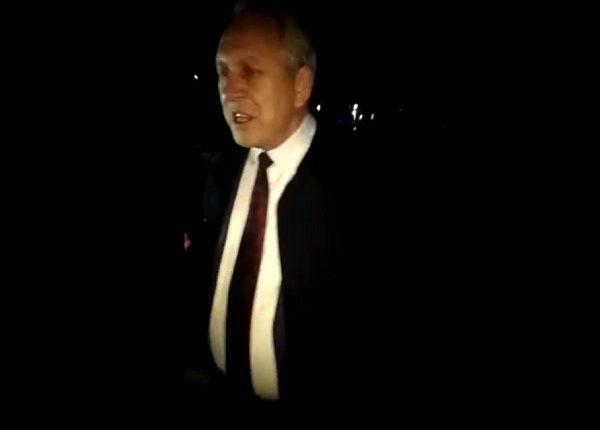 Пьяный глава российского города попал в аварию и попытался сбежать. ВИДЕО