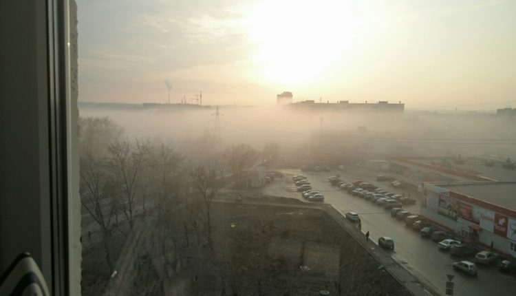 Челябинск поглотил густой смог