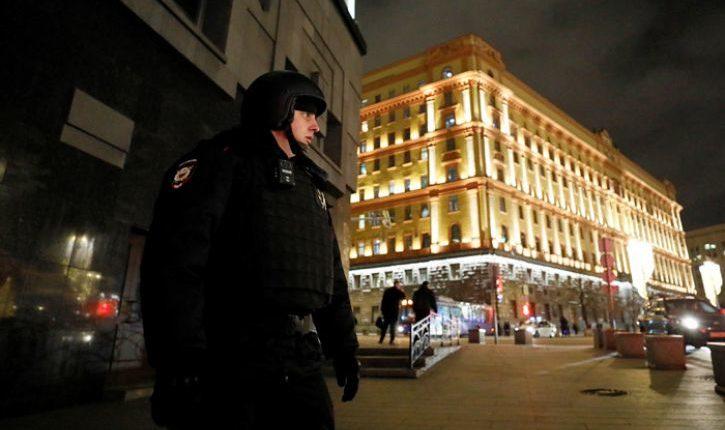 Стали известны подробности стрельбы у здания ФСБ в Москве