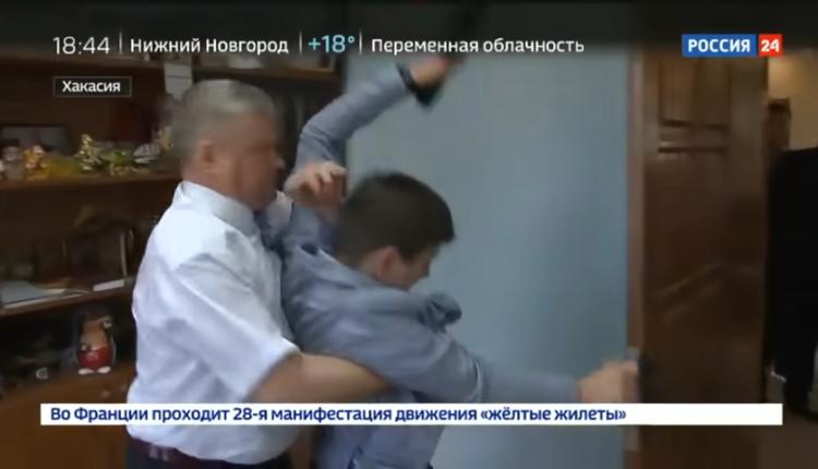 Главе района в Хакасии вынесли приговор за нападение на корреспондента федерального телеканала