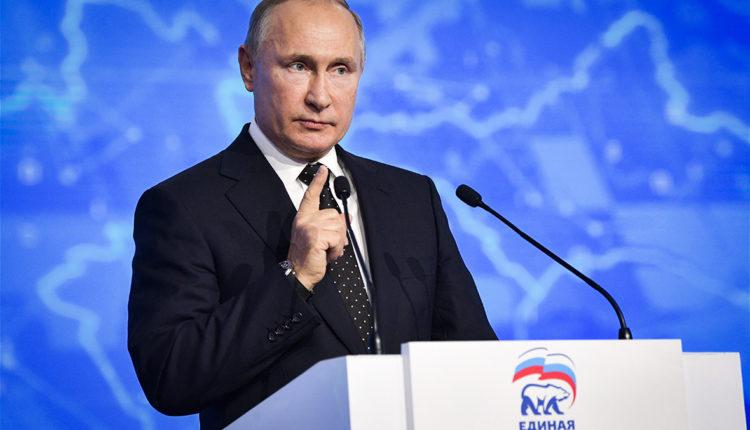 После окончания президентских полномочий Путин может возглавить «Единую Россию»