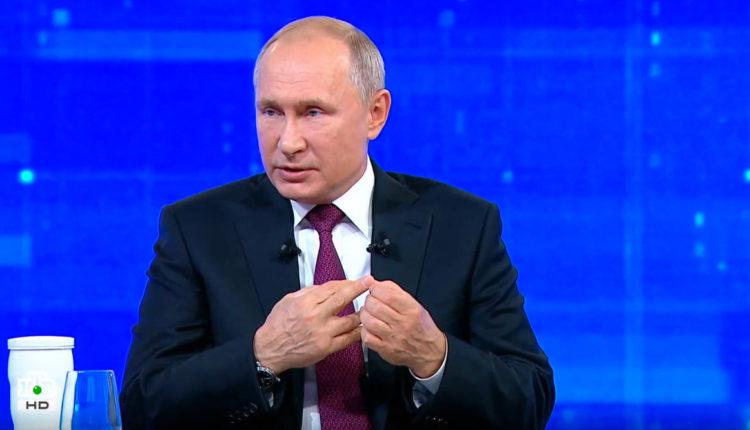 Путин ответил на вопрос, как выжить на 10 800 рублей в месяц. ВИДЕО