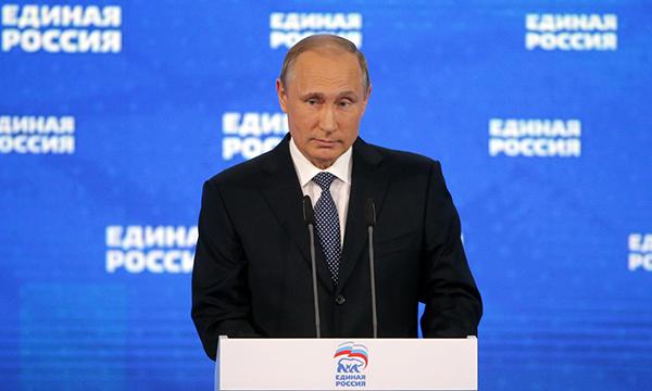 Путин станет «паровозом» списков «Единой России» на выборах в Госдуму