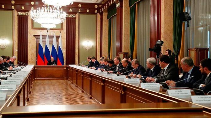 Госдума разрешила правительству вводить режим ЧС. Закон принят сразу во всех чтениях