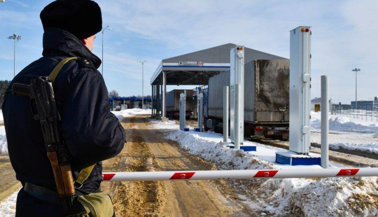 Россия закроет границу с Белоруссией для передвижения людей