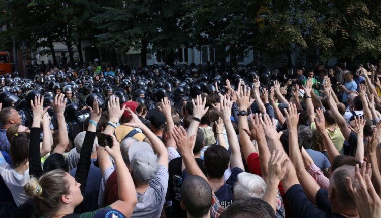 В прошлом году московские суды побили рекорды по числу задержаний и арестов протестующих