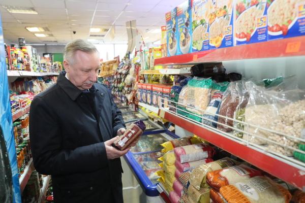 «Простая покупательница» в магазине, с которой пообщался губернатор Петербурга, оказалась актрисой и родственницей его подручного. ВИДЕО