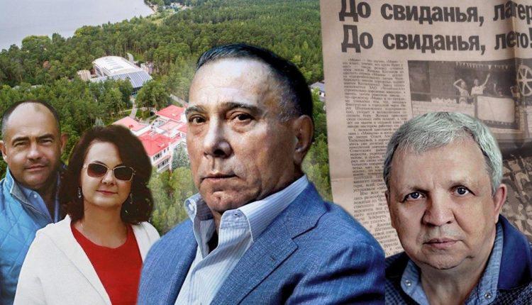 Олигарх Аристов украл у детей лагерь для своей дочери. Усадьба – 8 000 квадратов. ФОТО, ВИДЕО