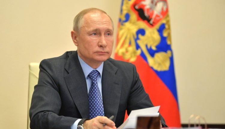Владимир Путин объявил о новых мерах поддержки бизнеса в условиях пандемии