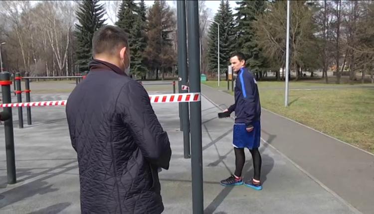 «Для чего эта клоунада?». Спортсмен обматерил мэра Новокузнецка, призывавшего его к самоизоляции. ВИДЕО
