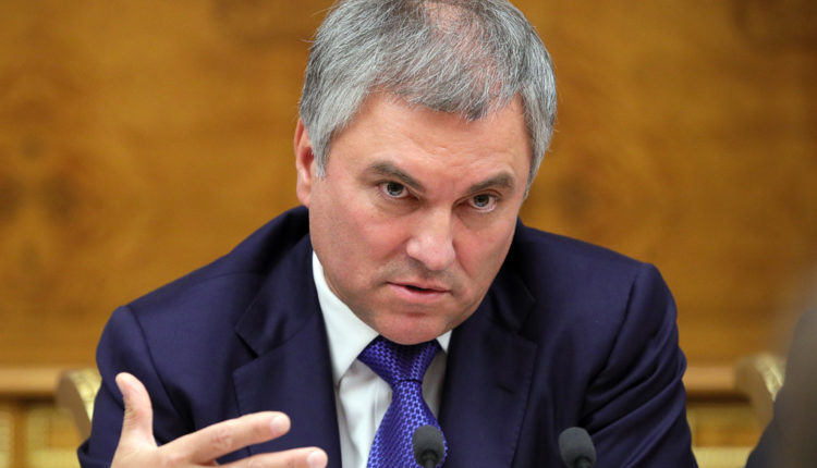 Спикер Госдумы Володин врёт о коронавирусе в Америке, чтобы не платить россиянам. ВИДЕО