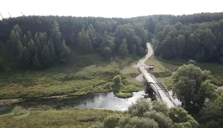 Незаконный мост через Истру, крышуемый ФСБ, закрыли для проезда и прохода. ВИДЕО