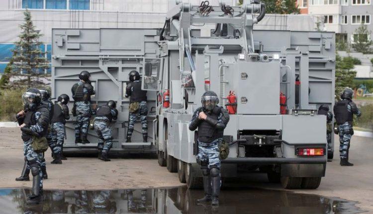 МВД и Росгвардия потратили на закупку спецсредств для подавления протестов 7,3 млрд за 5 лет
