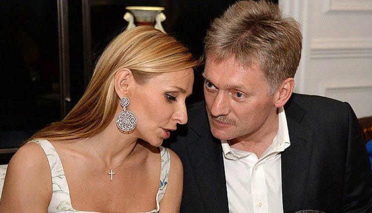 Пресс-секретарь президента Песков принес в семью заразу: он и его жена Татьяна Навка госпитализированы с коронавирусом