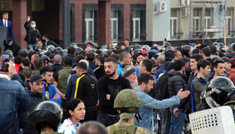 В отношении организатора народного схода против самоизоляции во Владикавказе возбудили уголовное дело