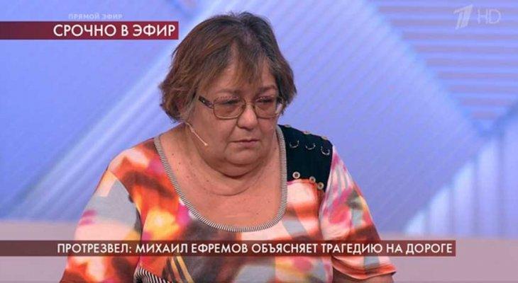 «Пусть посидит». Супруга погибшего водителя надеется, что Ефремова посадят как минимум на 6 лет