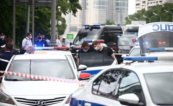 Уроженец Ингушетии, обстрелявший полицейских в Москве, скончался в больнице от полученных ранений