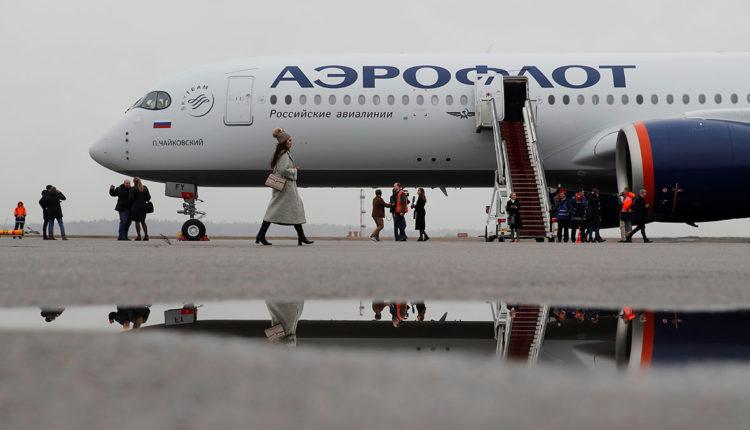 «Аэрофлот» доставляет за рубеж богатых пассажиров вопреки запрету властей